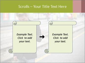 Man Checking Cellphone PowerPoint Template - Slide 74