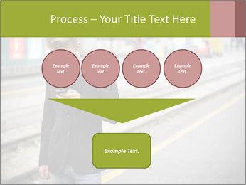 Man Checking Cellphone PowerPoint Template - Slide 93