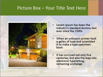 Private House Facade PowerPoint Template - Slide 13