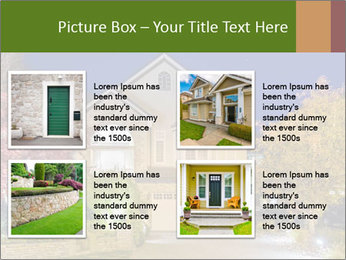 Private House Facade PowerPoint Template - Slide 14