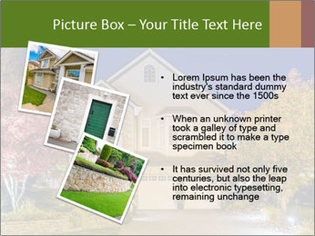 Private House Facade PowerPoint Template - Slide 17