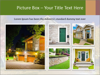 Private House Facade PowerPoint Template - Slide 19