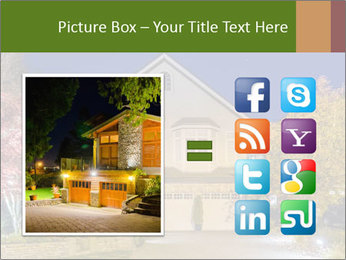 Private House Facade PowerPoint Template - Slide 21