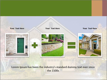 Private House Facade PowerPoint Template - Slide 22