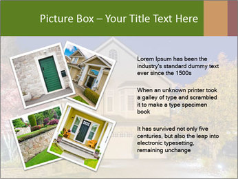 Private House Facade PowerPoint Template - Slide 23