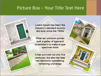 Private House Facade PowerPoint Template - Slide 24