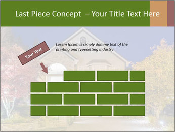 Private House Facade PowerPoint Template - Slide 46