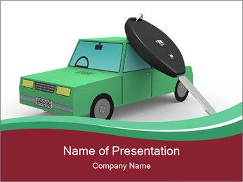 Car Security Concept Modèles des présentations  PowerPoint