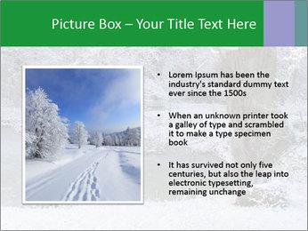 Frozen Lake PowerPoint Template - Slide 13
