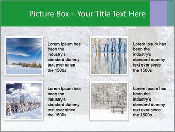 Frozen Lake PowerPoint Template - Slide 14