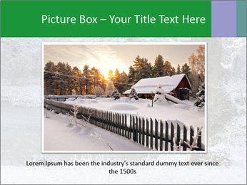 Frozen Lake PowerPoint Template - Slide 16