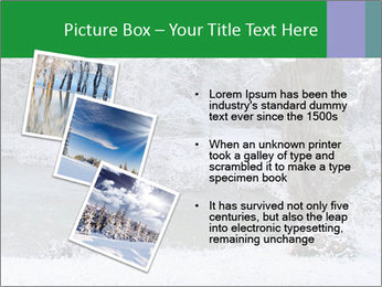 Frozen Lake PowerPoint Template - Slide 17
