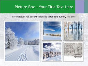 Frozen Lake PowerPoint Template - Slide 19