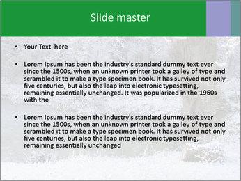 Frozen Lake PowerPoint Template - Slide 2