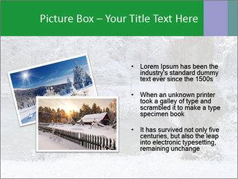 Frozen Lake PowerPoint Template - Slide 20