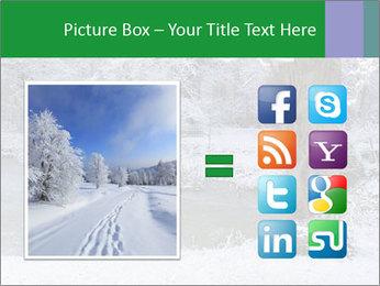 Frozen Lake PowerPoint Template - Slide 21
