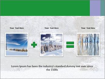 Frozen Lake PowerPoint Template - Slide 22