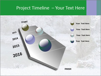Frozen Lake PowerPoint Template - Slide 26