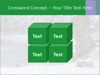 Frozen Lake PowerPoint Template - Slide 39