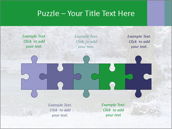 Frozen Lake PowerPoint Template - Slide 41