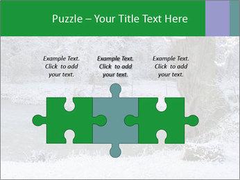 Frozen Lake PowerPoint Template - Slide 42