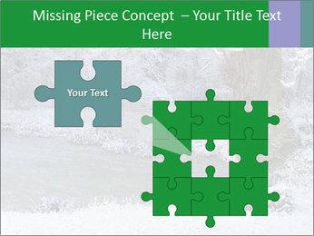 Frozen Lake PowerPoint Template - Slide 45