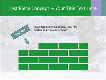 Frozen Lake PowerPoint Template - Slide 46