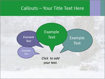 Frozen Lake PowerPoint Template - Slide 73