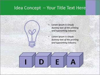 Frozen Lake PowerPoint Template - Slide 80