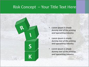 Frozen Lake PowerPoint Template - Slide 81