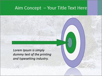 Frozen Lake PowerPoint Template - Slide 83