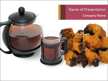 Herbal Tea Modèles des présentations  PowerPoint