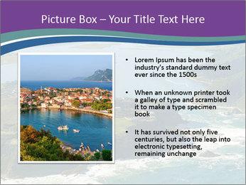Blue Lagoon PowerPoint Template - Slide 13