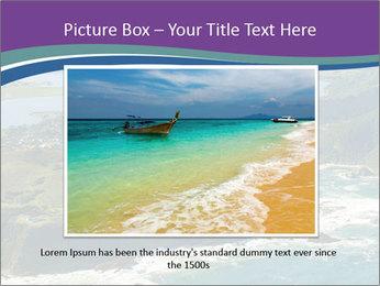 Blue Lagoon PowerPoint Template - Slide 15