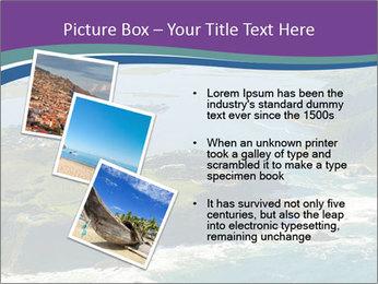Blue Lagoon PowerPoint Template - Slide 17
