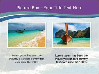 Blue Lagoon PowerPoint Template - Slide 18