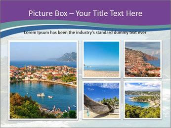 Blue Lagoon PowerPoint Template - Slide 19