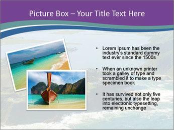 Blue Lagoon PowerPoint Template - Slide 20