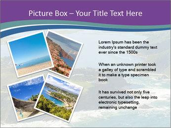 Blue Lagoon PowerPoint Template - Slide 23