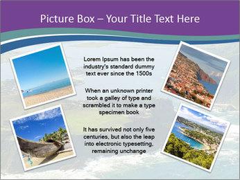 Blue Lagoon PowerPoint Template - Slide 24