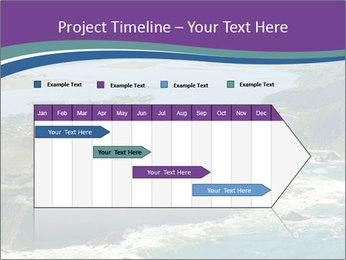 Blue Lagoon PowerPoint Template - Slide 25