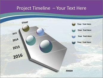 Blue Lagoon PowerPoint Template - Slide 26