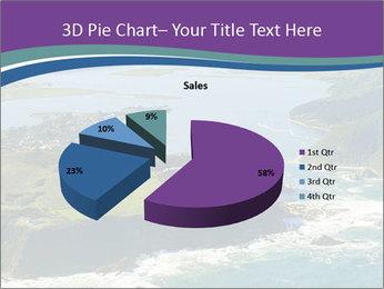 Blue Lagoon PowerPoint Template - Slide 35
