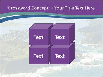 Blue Lagoon PowerPoint Template - Slide 39