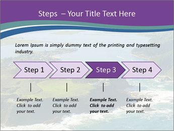 Blue Lagoon PowerPoint Template - Slide 4