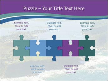 Blue Lagoon PowerPoint Template - Slide 41