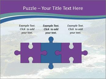 Blue Lagoon PowerPoint Template - Slide 42