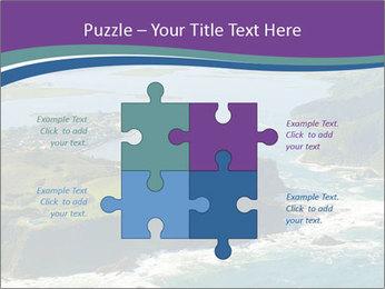 Blue Lagoon PowerPoint Template - Slide 43