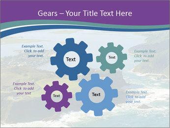 Blue Lagoon PowerPoint Template - Slide 47