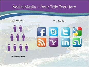 Blue Lagoon PowerPoint Template - Slide 5